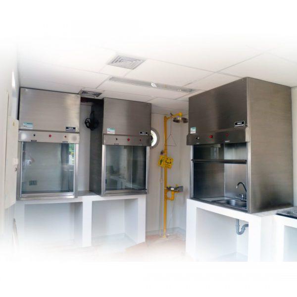 Cabina de extracción laboratorio