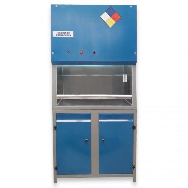 Cabina de Extractora de gases