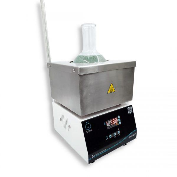 Manta para balón de 1000 ml con agitador magnético MAD-8209